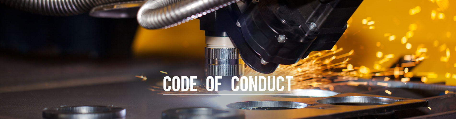 code of conduct banner
