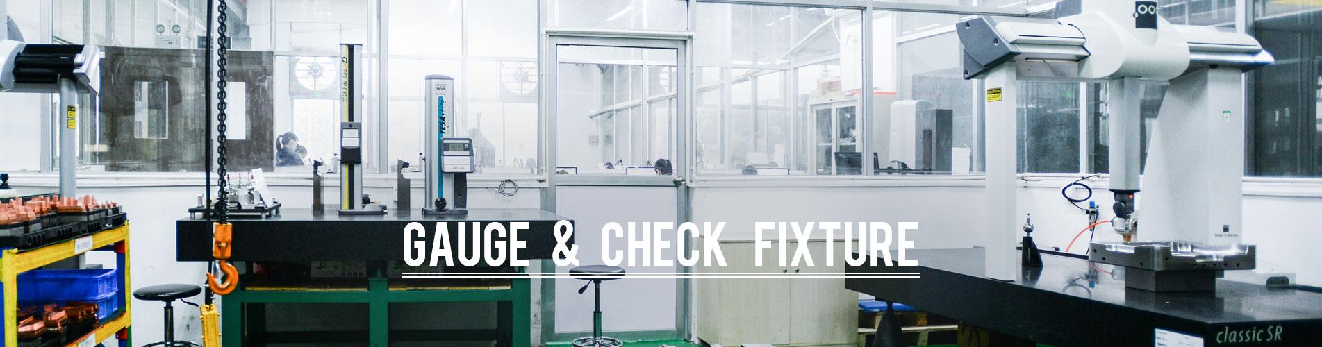 gauge check fixture banner